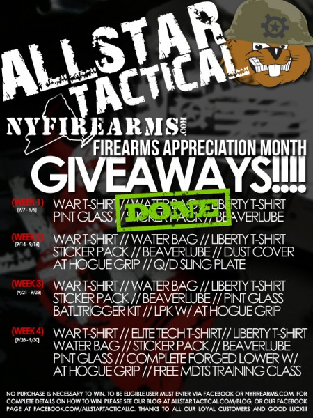 Allsar Tactical FAM Giveaways Week 2