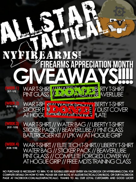 Allsar Tactical FAM Giveaways Week 3