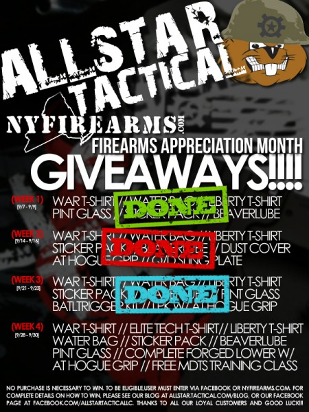 Allsar Tactical FAM Giveaways Week 4
