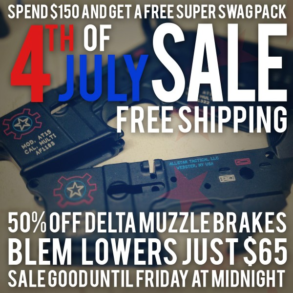 Allstar Tactical 4th of July Sale