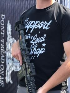 Men's Support Your Local Gun Store Shirt