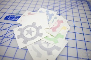 AT Logo Icon Stickers