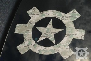 Allstar Tactical Multicam Icon Logo