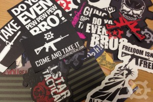 Allstar Tactical Sticker Pack