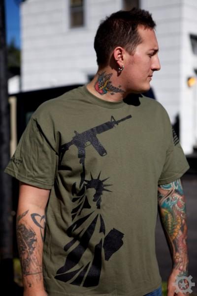 Lady Liberty T Shirt At Shrt Lbrty Allstar Tactical Llc