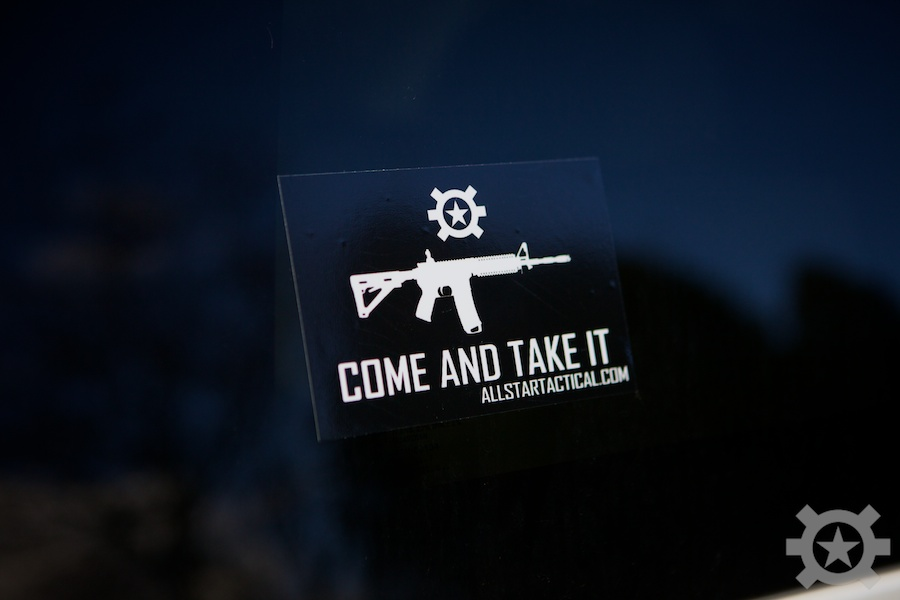 Allstar Tactical Come and Take It Sticker