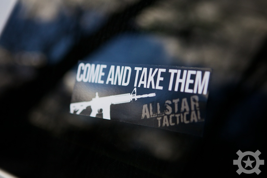 Allstar Tactical Come and Take Them Sticker