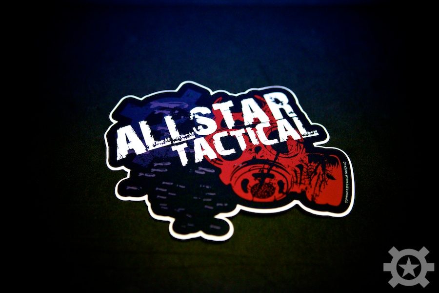Allstar Tactical War Sticker