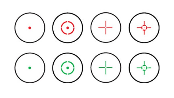 Dead Ringer Monteria Red Dot Reticles