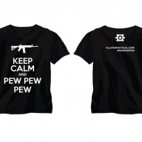 Keep Calm and Pew Pew Pew T-Shirt