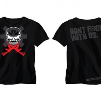 Skull Don't F With Us T-Shirt