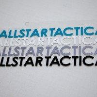 Allstar Tactical Hashtag Sticker