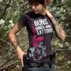Guns Shoes and Tattoos Girls Shirt