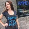 Women's Support Your Local Gun Store Shirt