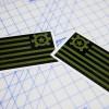AT Flag Sticker OD Green