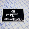 AT Come and Take It Sticker